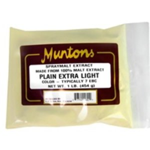 Beer and Wine Muntons Extra Light DME; 1 lb