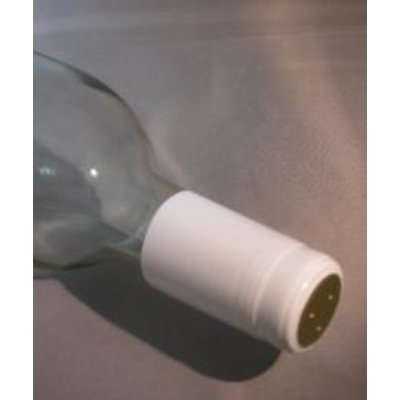 Beer and Wine Shrink Capsules-White; 30 ct.