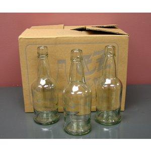 Beer and Wine Clear EZ Cap Bottle, 16oz
