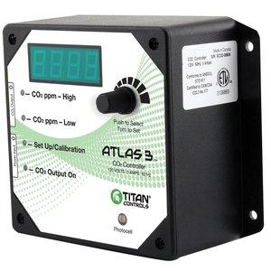 Environmental Controls Titan Atlas 3-Day/Night CO2 Monitor/Controller
