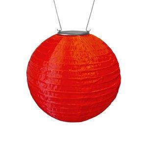 Yard and Garden Art Original Soji Lantern - Red