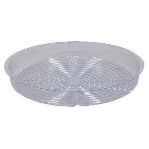 Indoor Gardening Saucer-Clear-14""