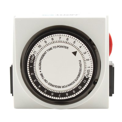 Indoor Gardening Titan Apollo 8- Two Outlet 24 Hour Timer