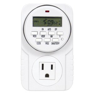 Indoor Gardening Titan Apollo 7- 24 Hour Digital Timer