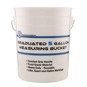 Indoor Gardening Measure Master Graduated Measuring Bucket - 5 gallon
