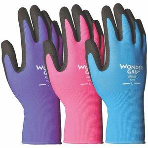 Outdoor Gardening Wonder Grip Nicely Nimble Nitrile Glove - Large