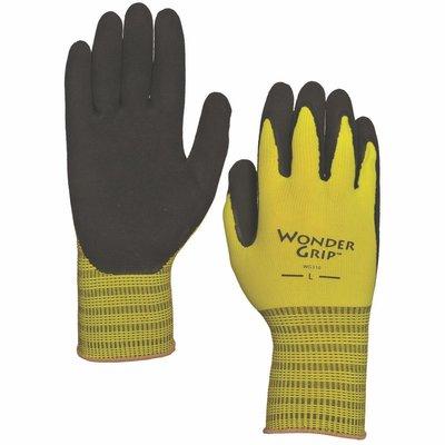 Outdoor Gardening Wonder Grip Extra Grip Latex Palm Glove - Medium