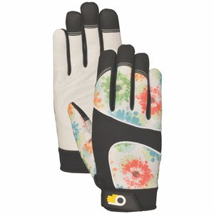 Outdoor Gardening Bellingham Women's Floral Performance Glove - Medium