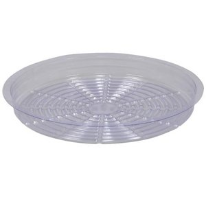Indoor Gardening Saucer-Clear-12""