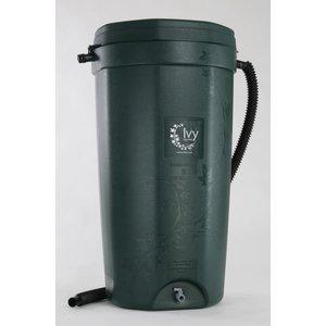 Outdoor Gardening Green Ivy Rain Barrel - 50 Gallon