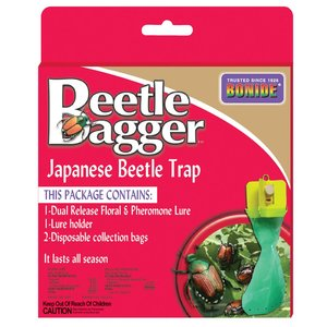 Pest and Disease Bonide Beetle Bagger Japanese Beetle Trap
