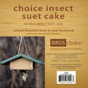 Home and Garden Choice Insect Suet Cake