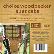 Home and Garden Choice Woodpecker Suet Cake