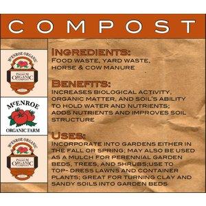Organic Gardening McEnroe Compost-40lb