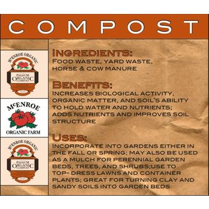 Outdoor Gardening McEnroe Compost-40lb