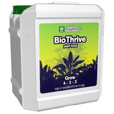 Indoor Gardening Bio Thrive Grow 4-3-3