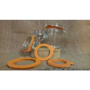 Urban DIY Le Parfait Bail Jar Gasket=100mm; Single