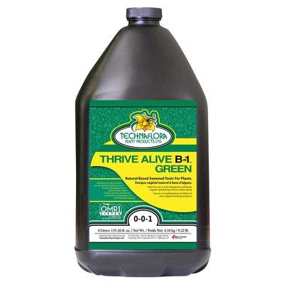 Indoor Gardening Technaflora Thrive Alive B-1 Green