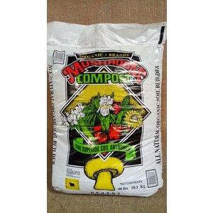 Organic Gardening Mushroom Compost 0.5-0.5-0.2, 40lb