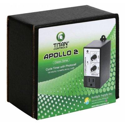 Environmental Controls Titan Apollo 2- Cycle Timer with Photocell