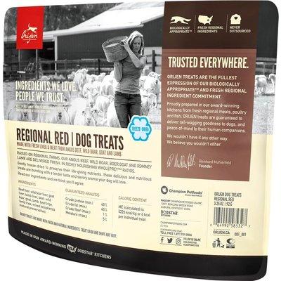 Urban DIY Orijen Freeze Dried Dog Treats - Regional Red 3.25 oz