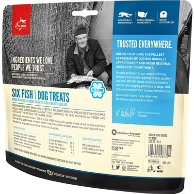 Urban DIY Orijen Freeze Dried Dog Treats - Fish 3.25 oz
