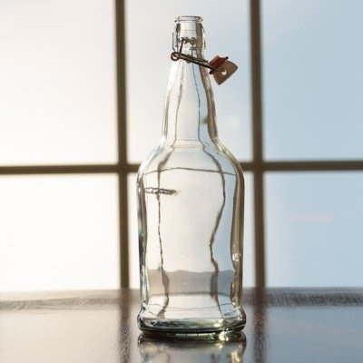 Beer and Wine Clear EZ Cap 1 L Bottle - Single