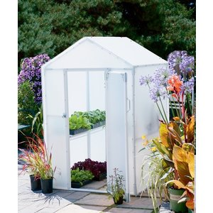 Outdoor Gardening Solexx 4ft x 4ft Lit'l Propagator Greenhouse - 3.5mm (G-102)