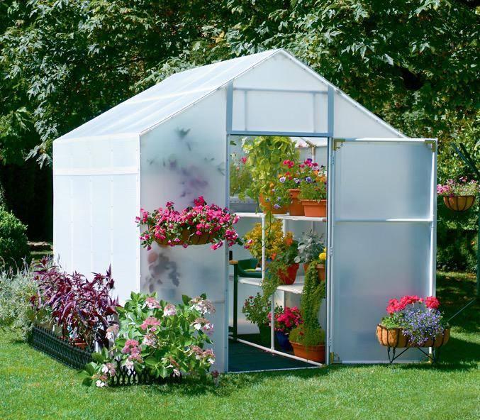 Outdoor Gardening Solexx Garden Master Greenhouse   3.5mm