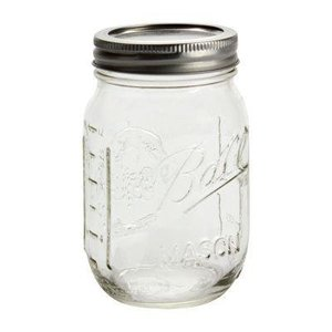 Urban DIY Ball Jar-16 oz.; 12/case