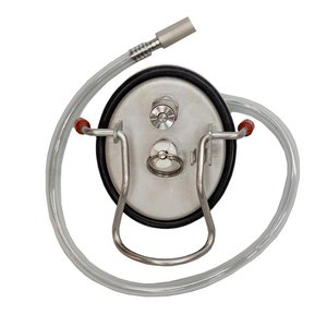 Beer and Wine Keg Carbonation Lid