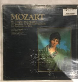 LP - The Complete Flute Quartets - Mozart - Factory Sealed