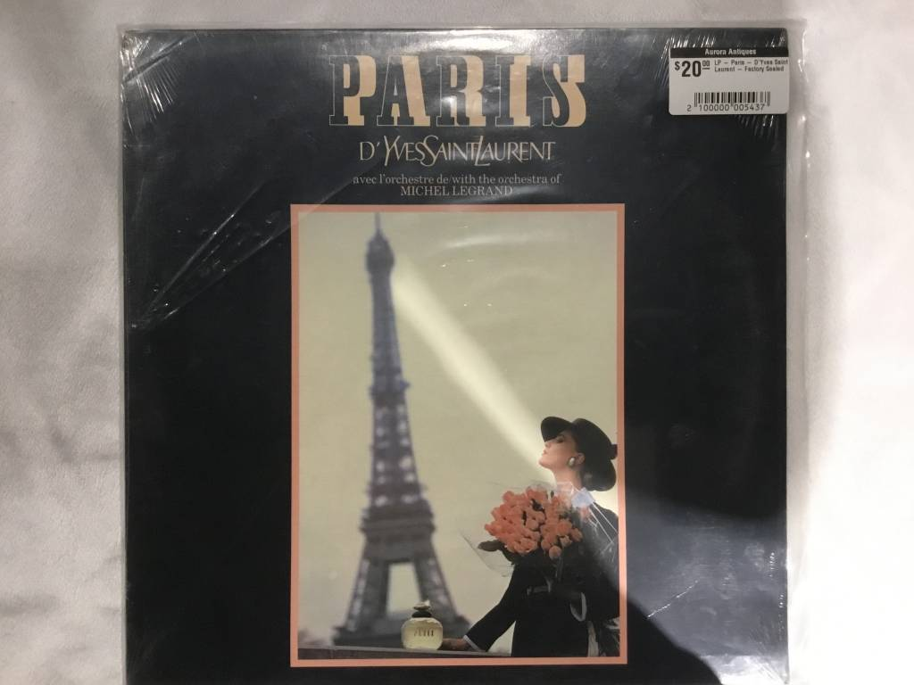 LP - Paris - D'Yves Saint Laurent - Factory Sealed