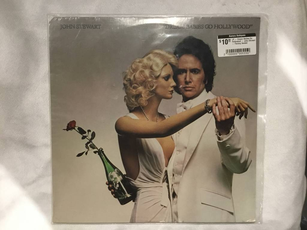 LP - Dream Babies Go Hollywood - John Stewart - Factory Sealed