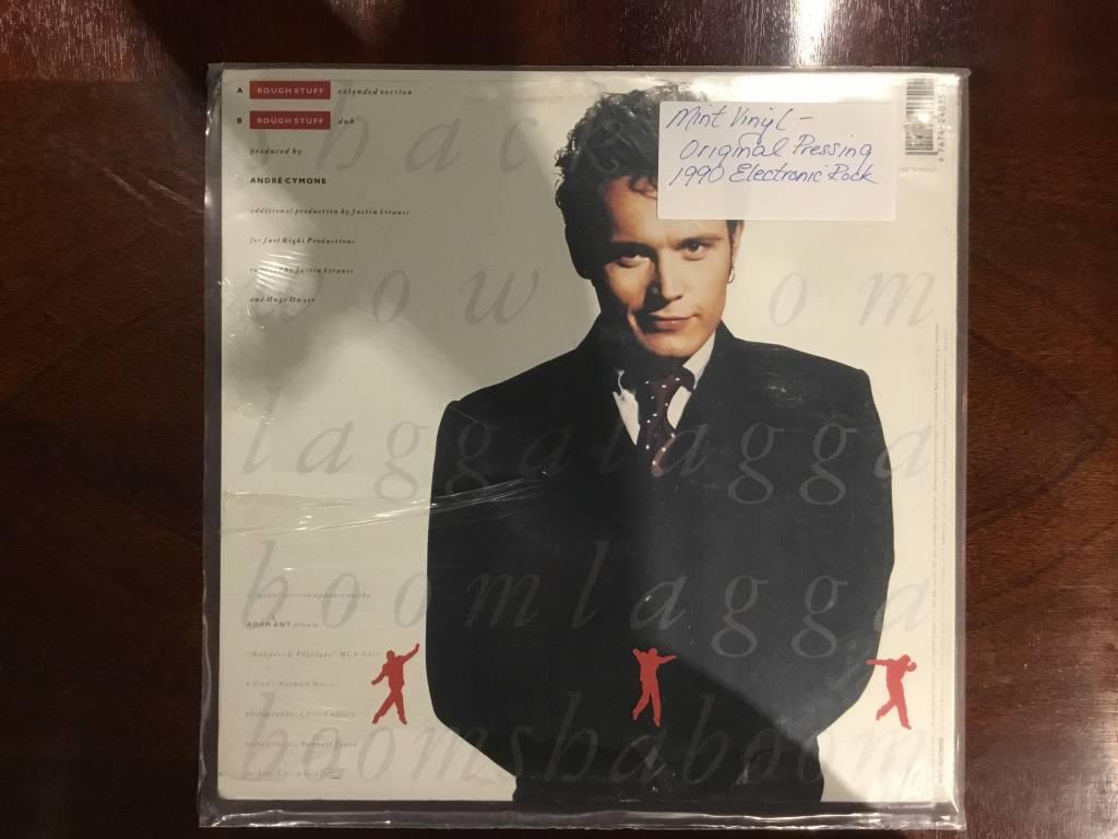LP - Rough Stuff - Adam Ant - Factory Sealed