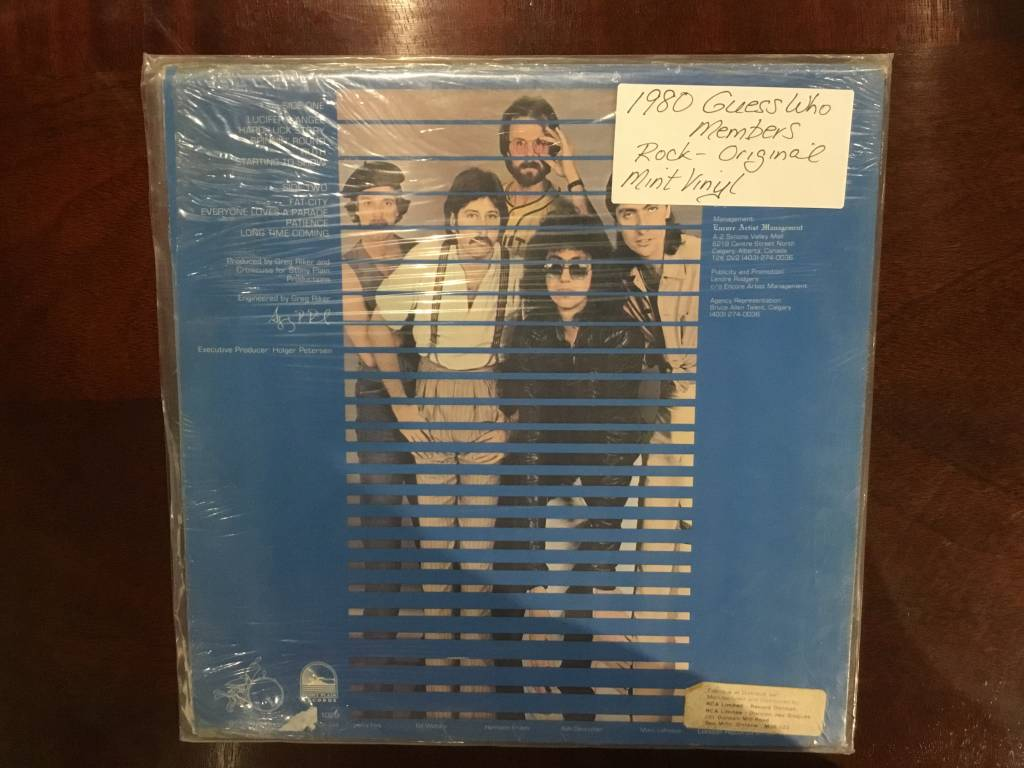 LP - Starting to Show - Crowcuss - Factory Sealed