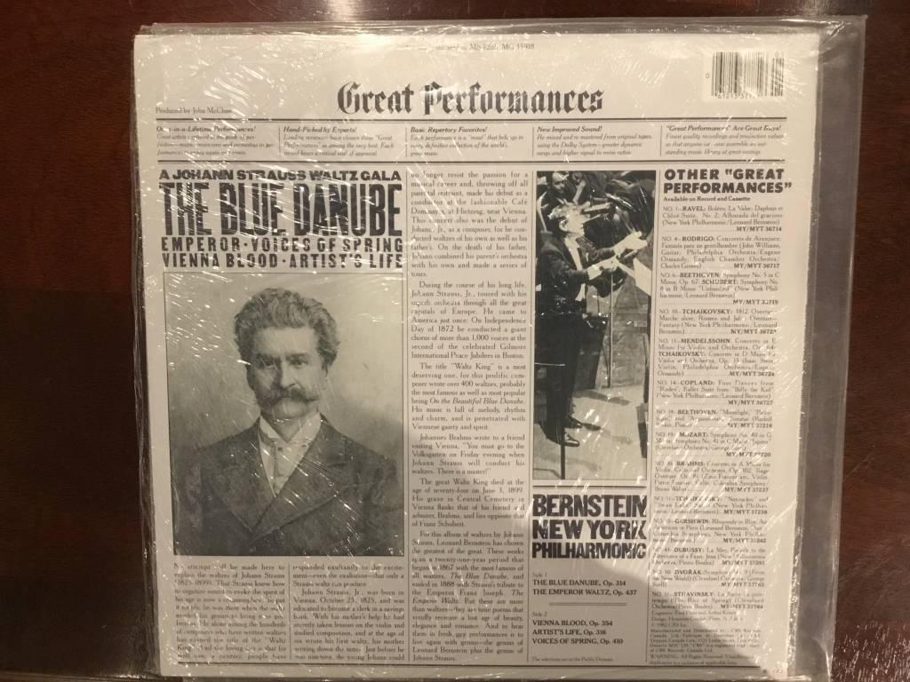 LP - The Blue Danube - Johann Strauss - Factory Sealed