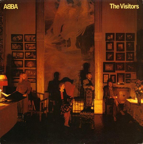 LP - The Visitors - ABBA - Original Pressing