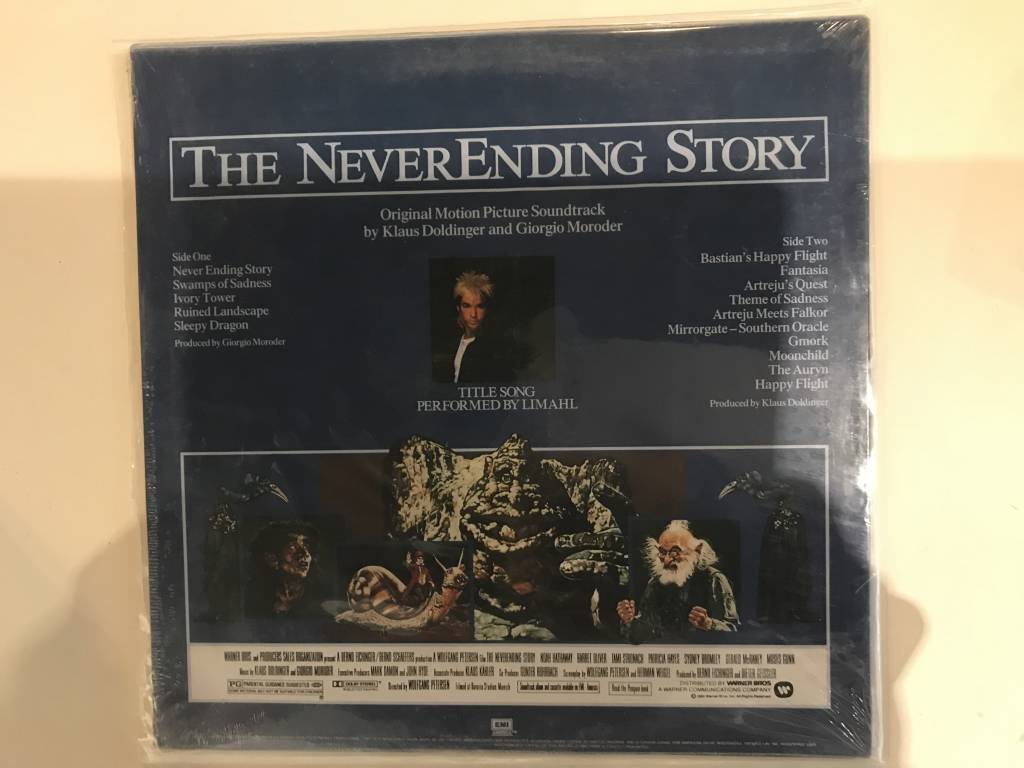 LP - Never Ending Story - Original Soundtrack