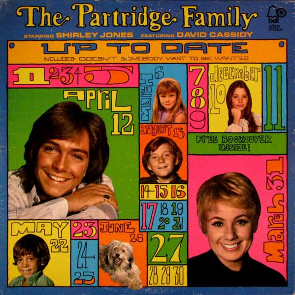 LP - Up to Date - The Partridge Family - Original Pressing