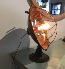 """Retro Lamp 15""""h x 14""""w"""