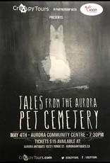 Tales from the Aurora Pet Cemetery - RESCHEDULED JUNE 8 @ 7:30pm