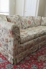 Floral Leaf Sofa