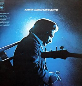 LP - Johnny Cash At San Quentin - Original Pressing