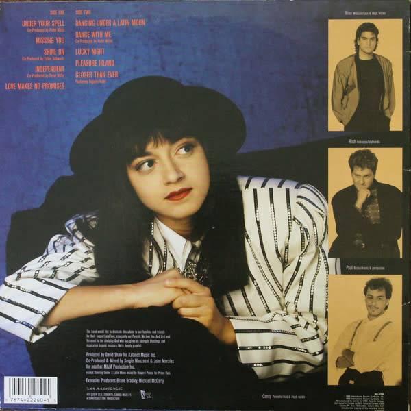 LP - Candi - Original Pressing - Canadian Dance Artist