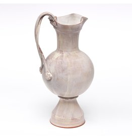 Ursula Hargens Pitcher, form by Ursula Hargens, glaze by Joe Pintz