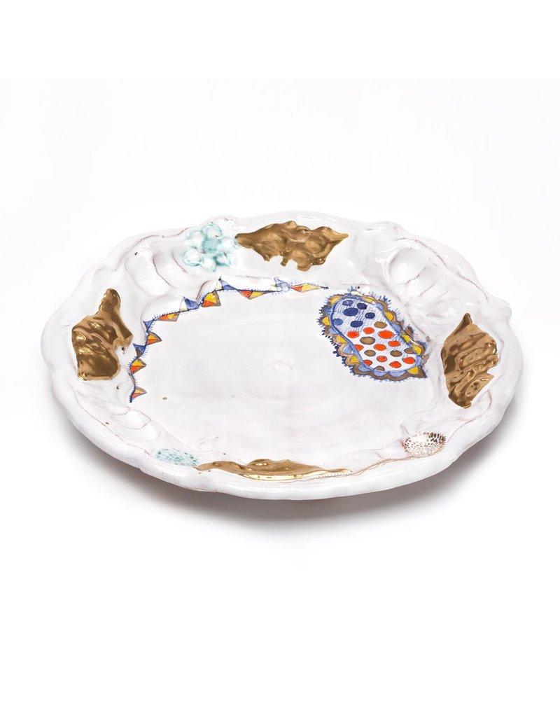 Lisa Orr form glazed by Liz Quackenbush