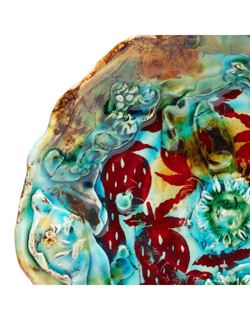 Lisa Orr form glazed by Jason Bige Burnett