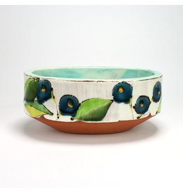 Joe Pintz Serving Bowl, form by Joe Pintz, glaze by Ursula Hargens