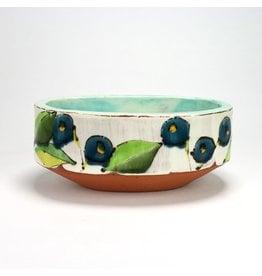 Joe Pintz Serving Bowl, form by Joe Pintz, glaze by Ursula Hargens